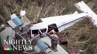 At Least 3 Dead In Midair Crash Of Two Planes In Florida Everglades | NBC Nightly News - NBCNEWS