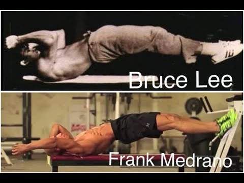 Frank Medrano Workout For Killer 6 Pack Abs : Dragon Flag Tutorial