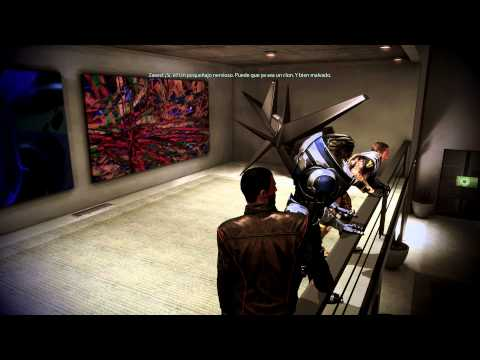 Mass Effect 3 Citadel DLC Garrus-Zaeed Party Fiesta HD Español