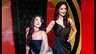 Sunny Leone's wax statue unveiled in Madame Tussaud's Delhi - ITVNEWSINDIA