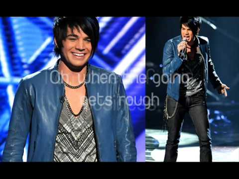 Adam Lambert Black or White Studio version