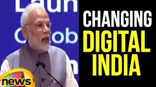 Modi says India's Biggest Identity is changing Digital India | Modi Latest News | Mango News - MANGONEWS