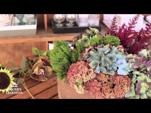 Fall Floral Arranging with Kristen