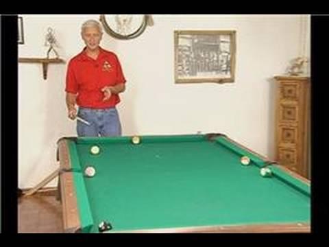 Billiards: Advanced Shots: Part 2 : Curve Shots in Pool: Part 2