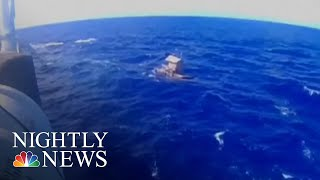 Teen Survives 49 Days Adrift In Pacific Ocean | NBC Nightly News - NBCNEWS