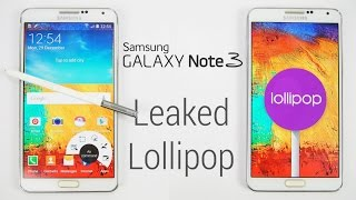 Galaxy Note 3 - Lollipop 5.0 (Leaked) -  How to Update / Flash