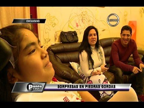 Sorpresa en Piedras Gordas: reos hacen colecta para la pequeña Romina
