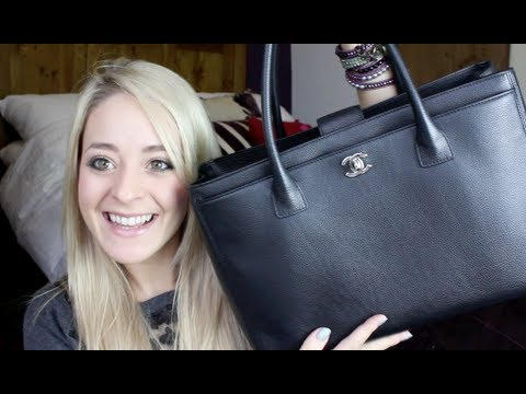 What s in my Bag & Chanel Executive Tote Review