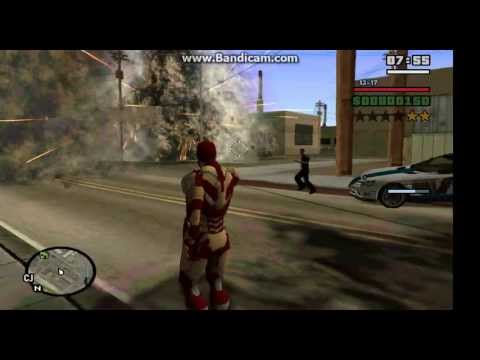 Download iron man unibeam for gta sa