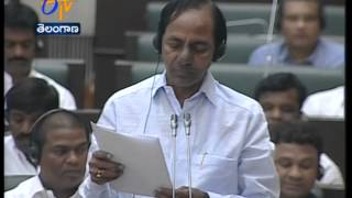 Opposition Leaders Intentionally Obstructing Assembly: Criticises CM KCR - ETV2INDIA