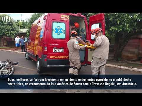 Colisão ocorreu no cruzamento da Rua Américo de Sousa com a Travessa Ragalzi