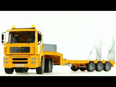 MAN TGA Low Loader Truck- Muffin Songs' Oyuncakları Tanıyalım