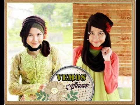Jilbab Modern | 2 Of 13 Hijab Styles: VEMOS FLOWER Series by Didowardah - Part #2