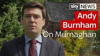 """Andy Burnham: """"PM Was Wrong To Make Immigration Pledge"""" - SKYNEWS"""