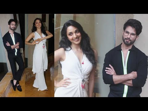 Shahid Kapoor & Kiara Advani Promoting at KABIR SINGH Movie Juhu