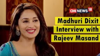 Madhuri Dixit Latest Interview with Rajeev Masand | Marathi Film Bucket List | CNN News18 - IBNLIVE