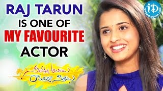 Raj Tarun Is One Of My Favourite Actor - Actress Arthana | Seethamma Andalu Ramayya Sitralu - IDREAMMOVIES