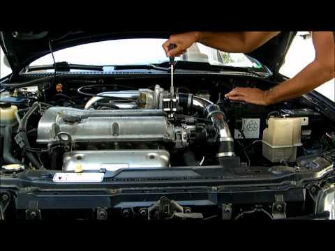 Como afinar o relantim de um Mazda 323F BA 1.5 (motor Z5)