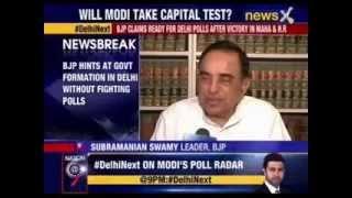 BJP confident of winning elections in Delhi - NEWSXLIVE