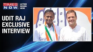 'BJP wants Dalit votes but not Dalit netas', says Congress leader Udit Raj, - TIMESNOWONLINE