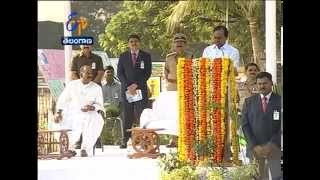 TS CM KCR Salutes The Police  Who Have Sacrificed Their Lives For The Nation - ETV2INDIA