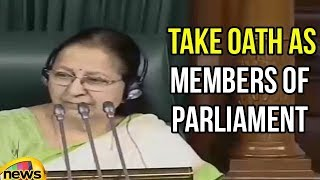 Lok Sabha Session 2018 | Ministers take oath as Members of Parliament | Monsoon Session| Mango News - MANGONEWS