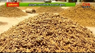 Massive Loss Turmeric Farming Farmers in Nizamabad District | Raithe Raju | CVR NEWS - CVRNEWSOFFICIAL