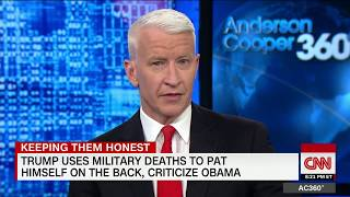 Cooper: Trump turned deaths into own gain - CNN