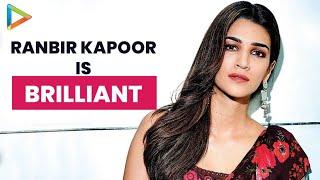 "Kriti Sanon: ""Ranbir Kapoor has really EXPRESSIVE Eyes, He is BRILLIANT"" - HUNGAMA"
