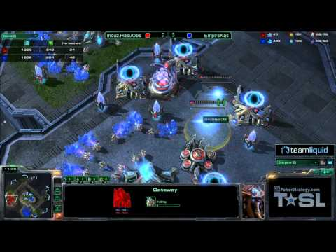 Game 6 - Empire.Kas vs mouz.HasuObs - TSL3 3rd/4th Match