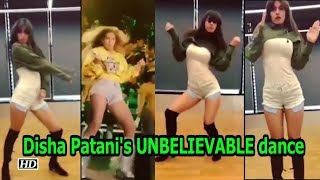 Disha Patani's UNBELIEVABLE dance video - IANSLIVE