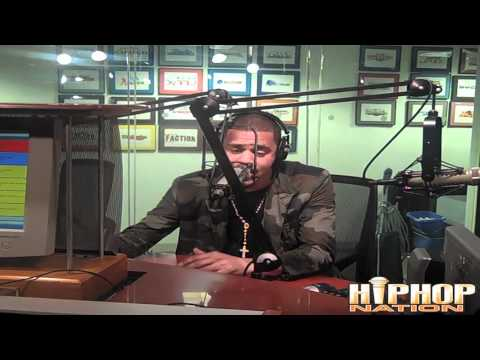 "J. Cole ""On Da Spot"" Freestyle With DJ Green Lantern and Boss Lady"