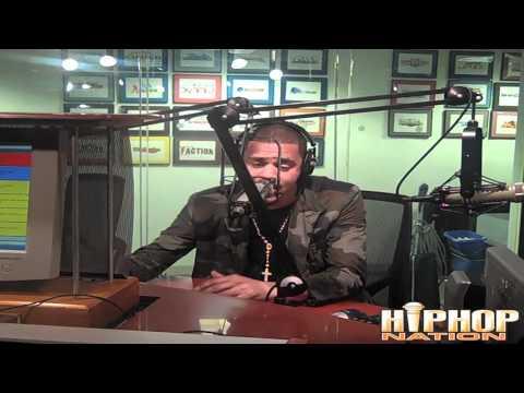 "J. Cole ""On Da Spot"" Freestyle With DJ Green Lantern and Boss Lady"