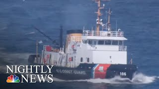 Coast Guard Denied Pay, Some Turn To Food Banks Amid Shutdown | NBC Nightly News - NBCNEWS