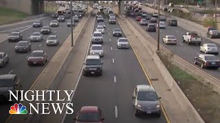 54 Million Americans On The Move Ahead Of Thanksgiving | NBC Nightly News - NBCNEWS