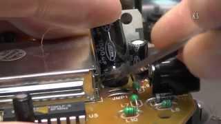 Ремонт беспроводных наушников Philips - садо-мазо
