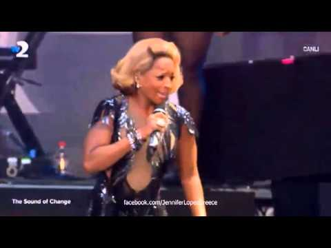 Jennifer Lopez ft. Mary J. Blige - Come Together - The Sound of Change Live