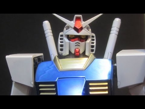 MG Gundam 2.0 Titanium Finish (Part 4: MS) First Gundam RX-78-2 gunpla model review