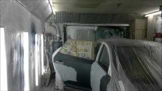 покраска авто в гараже киа сид