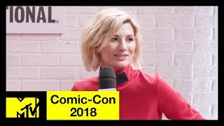 'Doctor Who' Cast on Series 11, Female Representation & Bringing Fresh Energy | Comic-Con 2018 | MTV - MTV