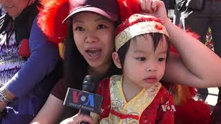 Lunar New Year Tradition Continues in U.S. With Annual Parade - VOAVIDEO