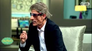 محمود عزب يقلد مفيد فوزي مع إسعاد يونس