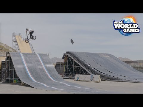 Highlights From Practice for Nitro World Games 2017