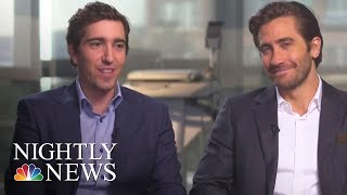 Boston Strong: Jeff Bauman's Incredible Story | NBC Nightly News - NBCNEWS