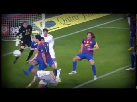 Alex Song vs Sergio Busquets 2012