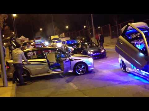 Desfile neones carbajosa salamanca tuning