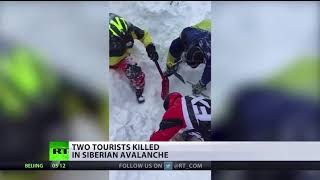 Two tourists killed in Siberian avalanche - RUSSIATODAY