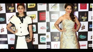 Mirchi Music Awards 2015: Alia Bhatt, Madhuri Dixit Sizzle - THECINECURRY