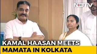 Days Before Polls, Kamal Haasan Meets Mamata Banerjee In Kolkata - NDTV