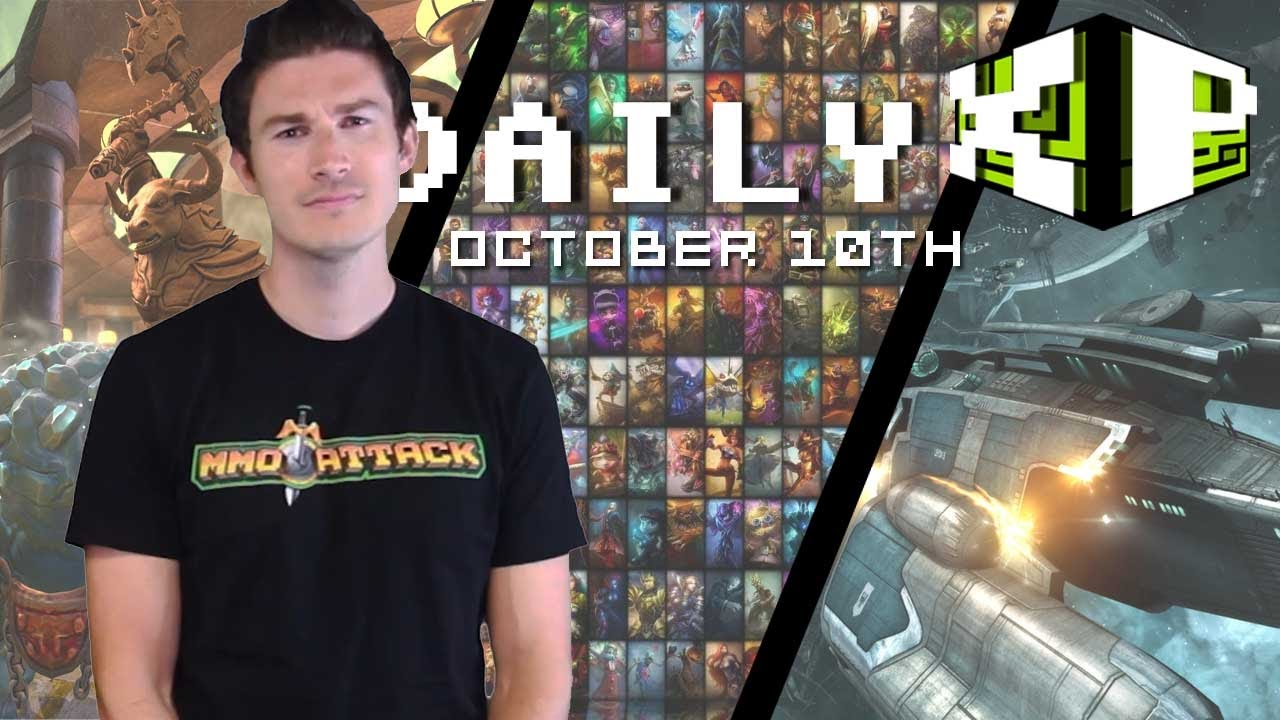 League of Legends Jinx, SMITE, EVE Online and more! | The Daily XP October 10th